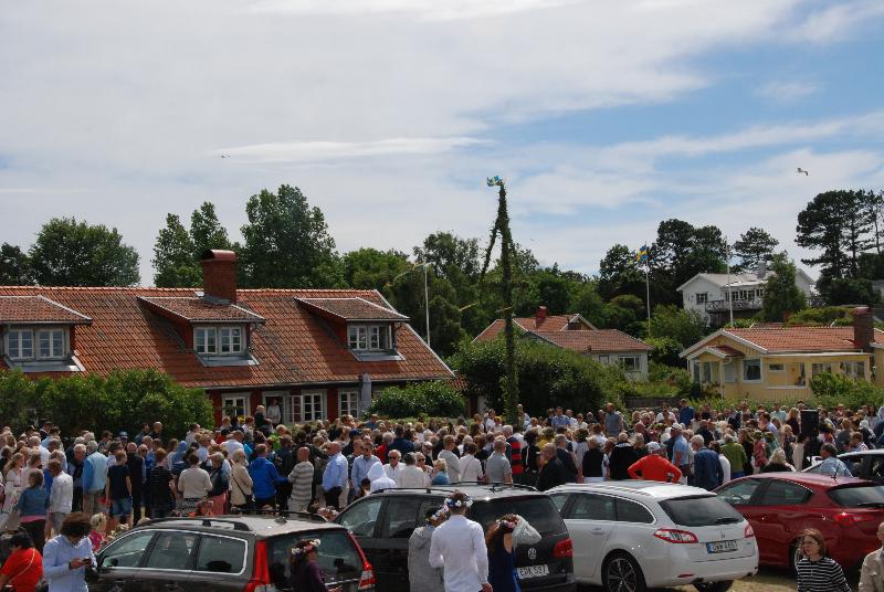 Många besökare